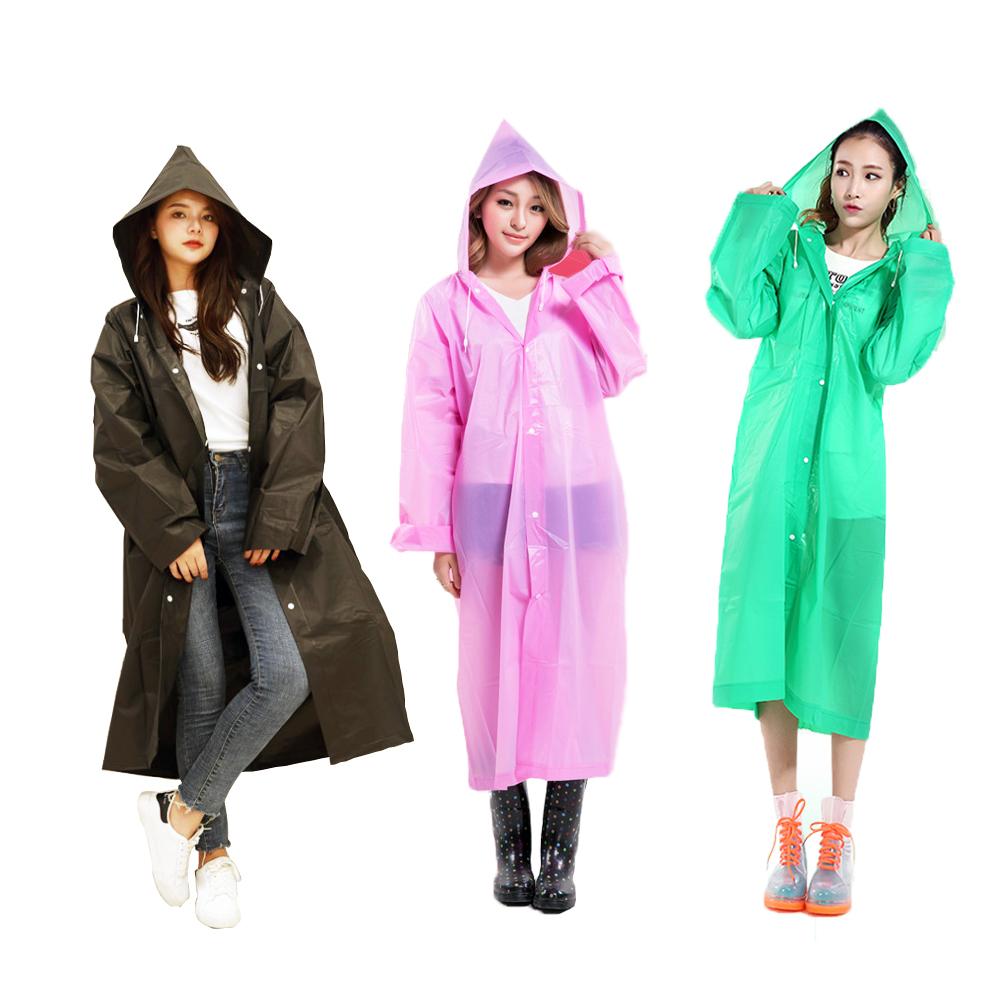 [HISHOME] EVA 패션 레인코트 남녀공용 우비 8컬러